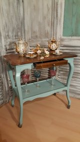 Chippendale Serving Cart / Shabby Chic in Ramstein, Germany