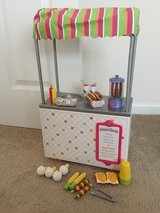 American Girl Campus Snack Cart in Chicago, Illinois