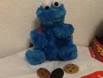 Sesame Street Count and Crunch Cookie Monster Plush in Ramstein, Germany