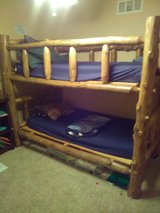 "Twin bunk bed ""Log"" in Fort Riley, Kansas"