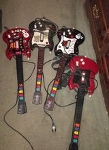 4 Guitar Hero Guitars for PS2 in Warner Robins, Georgia