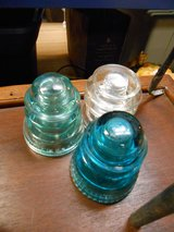 Glass Insulators in Cherry Point, North Carolina