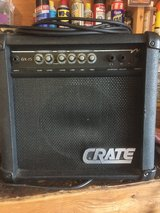 Crate amp in 29 Palms, California