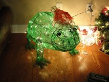 "30"" ""ICEE FRIEND FRANKIE THE FROG"" CHRISTMAS LIGHT UP DECORATION in Camp Lejeune, North Carolina"
