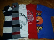5 short sleeve shirts size 5-6 in Fairfield, California