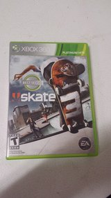 XBOX 360 SKATE 3 in Fort Leonard Wood, Missouri