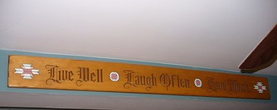 Wooden Sign/Southwestern in Naperville, Illinois