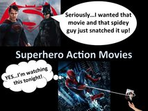 Super Hero Action Movies in Okinawa, Japan