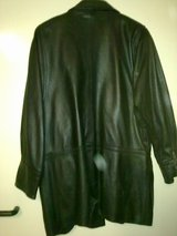 Leather Jacket Size L -Leather in Great Condition in Ramstein, Germany