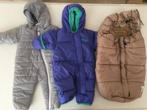 nice and cozy for new born. Snow suits and snow bag for stroller in Ramstein, Germany