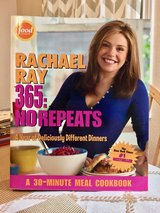 Rachael Ray 365: No Repeats--A Year of Deliciously Different Dinners Cookbook in Fort Riley, Kansas