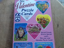 6 Valentines Puzzle Cards & Envelopes in Ramstein, Germany