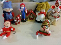 Vintage Christmas ornaments in Naperville, Illinois
