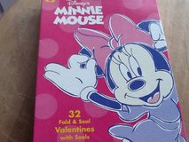Disney Minnie Mouse 32 Valentines w/seals in Ramstein, Germany