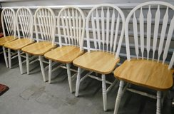 Large Dinette Set with 6 Chairs in Houston, Texas
