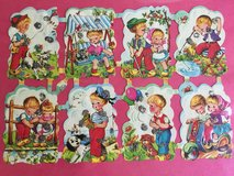 Vintage Die Cuts - Children in CyFair, Texas