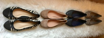 Women's Shoe Sale. 6 and 6.5.... 4 pairs for 20 Euro in Grafenwoehr, GE