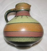 Collectible KMK Manuell Earthtones Pitcher in Ramstein, Germany