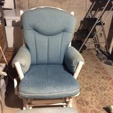 Glider chair with foot glider foot stool. HOLIDAY SPECIAL!! in Morris, Illinois