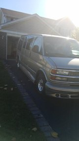 2001 Chevy Express Passenger Van, LOWER PRICE in Plainfield, Illinois