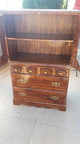 Pine / Mirrored Armiore Chest Of Drawers in Fort Campbell, Kentucky