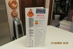 """Bridge At A Glance"" - Instruction Book By Audrey Grant in Kingwood, Texas"