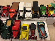 Diecast metal cars 1/32 in Bartlett, Illinois