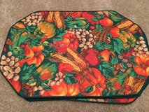 Thanksgiving cloth placemats (6) in Naperville, Illinois