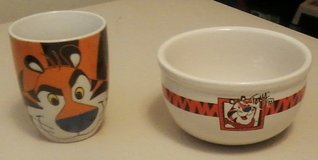 Kelloggs Bowl and Cup Set in Fort Campbell, Kentucky