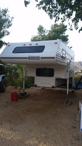lance camper in Yucca Valley, California