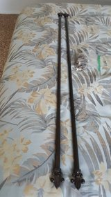 2 METAL CURTAIN RODS in 29 Palms, California