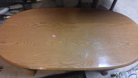 Oval Coffee Table (used) in 29 Palms, California