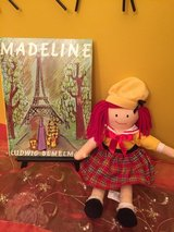 Madeline soft plush talking doll with book in Morris, Illinois
