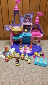 Little People Princess Castle and 3 Little people sets in Lockport, Illinois