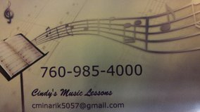 MUSIC LESSONS for the beginner in 29 Palms, California