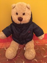 Baby Gap Teddy Bear With Navy Coat Jacket Teddy Bear in Naperville, Illinois