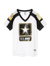 NEW Victoria Secret PINK BLING ARMY Game Day Top Shirt Jersey XS, S, M, in Hinesville, Georgia