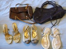 Lot of womens shoes and handbags, PRICE LOWERED in Bolling AFB, DC