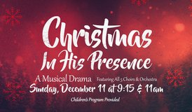 SUNDAY CHRISTMAS MUSICAL with DRAMA!! in Beaufort, South Carolina
