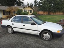 93 Honda Accord Manual runs great in Fort Lewis, Washington