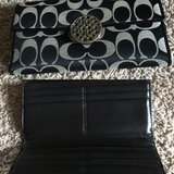 Coach Wallet - Black Leather in Batavia, Illinois