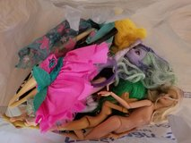 Bag full of barbies and Monster high dolls in Alamogordo, New Mexico