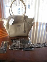 Brand New Grace Adele Purse with 2 Accessories in DeKalb, Illinois