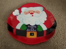 Cookies for Santa Christmas plate in Naperville, Illinois