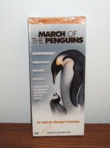 "ONLY $1 New March of The Penguins DVD Factory Sealed RARE 12"" Case in Morris, Illinois"