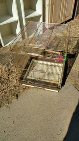 Bird cage in Alamogordo, New Mexico