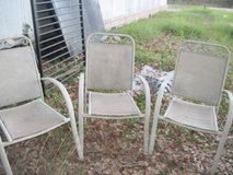 THREE OUTDOOR CHAIRS in Hinesville, Georgia