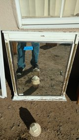 Mirror cabinet in Alamogordo, New Mexico