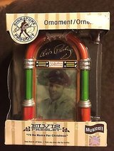 """NEW! Elvis """"I'll Be Home for Xmas"""" Musical Jukebox Ornament in Oswego, Illinois"""