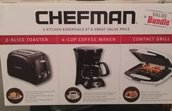 Chefman 3 Pc Kitchen Appliances in Joliet, Illinois